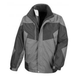 3-in-1 Aspen Jacket Grey/Black XL