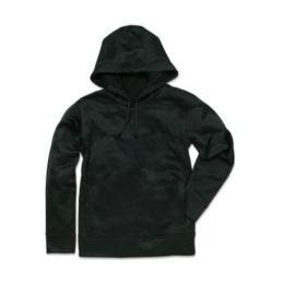 Active Bonded Fleece Hoody Men Opal Black 2XL