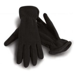 Active Fleece Handschuhe Black M
