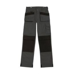 Advanced Workwear Trousers Steel Grey/Black 28""
