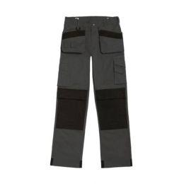 """Advanced Workwear Trousers Steel Grey/Black 30"""""""