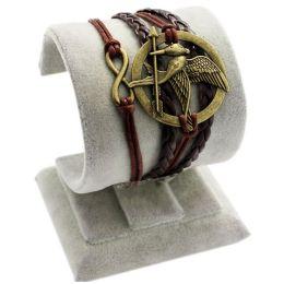 "Armband ""Fantasy"" schwarz/braun"