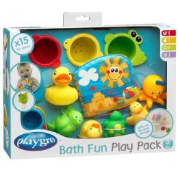 Badespielzeug-Geschenkset, 15-teilig