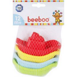 beeboo Baby Badeboote, 4 Stück , 1 Set