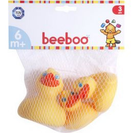 beeboo Baby Badeenten, 3 Stück , 1 Set