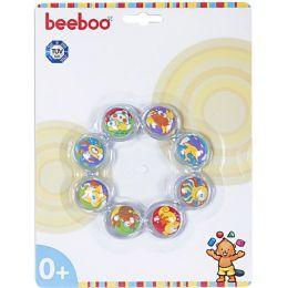 beeboo Baby Kühlbeißring, 12,5 x 12,5 x 2cm