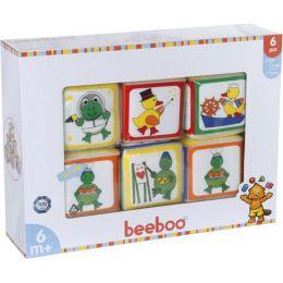 beeboo Babywürfel, 6 Stück, 7 x 7 x 7cm