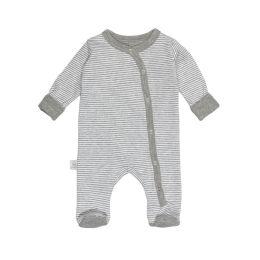 Bodysuits, einzeln grau+gestreift 44/48