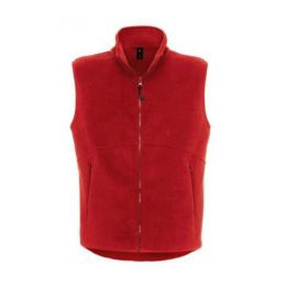 Bodywarmer Fleece Red L