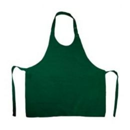 Damen-Latzschürze Bottle Green One Size