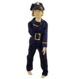 Fasching Karneval Polizist mit Hut
