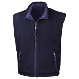 Fleece Wendebodywarmer Royal/Navy XS