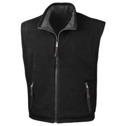 Fleece Wendebodywarmer Slate Grey/Black L
