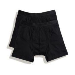 Herrenshorts Boxer (2er Pack) Black S