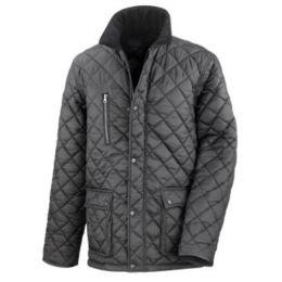 Junior Cheltenham Jacket Black L (9-10)