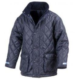 Junior Cheltenham Jacket Black M (7-8)