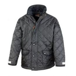 Junior Cheltenham Jacket Black S (5-6)