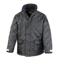 Junior Cheltenham Jacket Black XS (3-4)