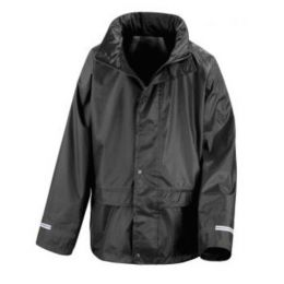 Junior StormDri Jacket Black XL (11-12)