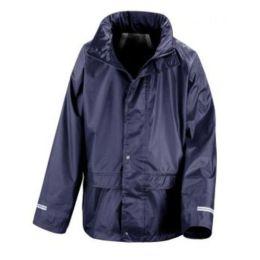 Junior StormDri Jacket Navy L (9-10)