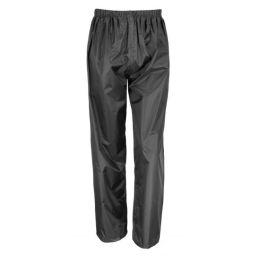 Junior StormDri Trousers Black L (9-10)