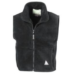 Kids` Fleece Bodywarmer Oxford Grey 10-12