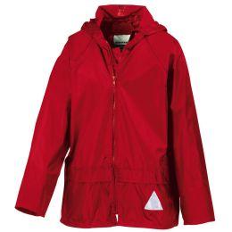 Kids Schlechtwetter-Anzug Red M (128)
