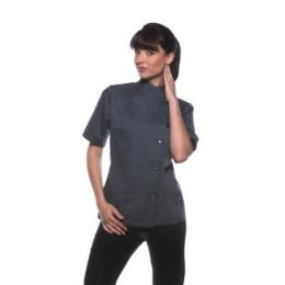 Ladies Chef Jacket Greta Anthracite 34