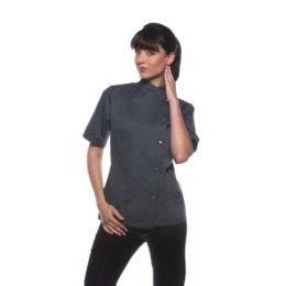 Ladies Chef Jacket Greta Anthracite 36