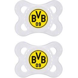 MAM Borussia Dortmund, Silikon, 0-6 Monate, 2 Stück