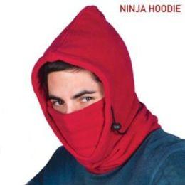 Ninja Hoodie Multifunktions-Kapuze, rot