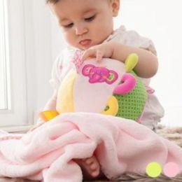 Plüschball mit Decke für Babys