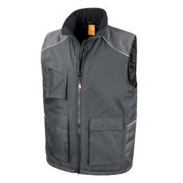 Work-Guard Vostex Bodywarmer Black 3XL