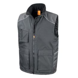 Work-Guard Vostex Bodywarmer Black 4XL