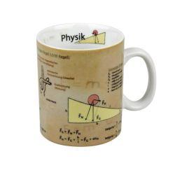 Becher Physik Tasse Porzellan Schule Naturwissenschaften