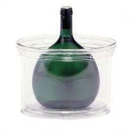 Bocksbeutelkühler Wein Bocksbeutel Flasche Kühler Acryl Weinkühler