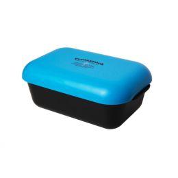 Brotdose blau Lunchbox mit Kühlakku Brotdose Brotzeitdose Box Dose Lunch mit Kühlung