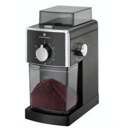 Elektrische Kaffeemühle Kingston schwarz Kaffee Mühle mahlen Scheibenmahlwerk