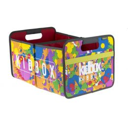 Faltbox Kids Bunt Large Faltbox Classic Large Kids Aufbewahrungsbox Transportbox Klappbox Lagerbox