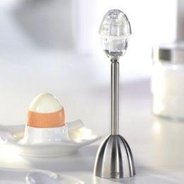 Gefu Eierköpfer mit Salzstreuer Ei Eier köpfen Frühstücksei