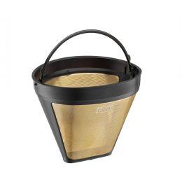 Goldfilter Größe 4 Papierfilter Kaffee Zubehör Kaffeemaschine Dauerfilter Filtertüte