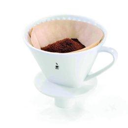 Kaffeefilter Sandro Filterkaffe Porzellan Handfilter Größe 4 Kaffeefilter Dauerfilter Kaffee
