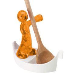 Kochlöffelhalter Ablage Luigi Kochloffelablage Stütze Kochlöffelzubehör orange