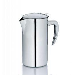 Portionskanne Latina Kaffeekanne Edelstahl 1,1 Liter Kaffee Kanne Teekanne Kännchen