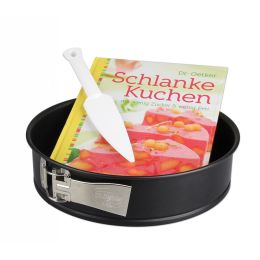 Schlanke-Kuchen-Set Backform Kuchenform 26 cm Backset Kuchenlöser Backbuch