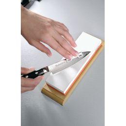 Schleifhilfe 2er Set Zubehör für Schleifstein Messerschärfer schleifen schärfen