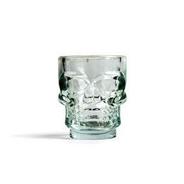 Schnapsglas Skull Totenkopf Schnapsglas Tiki Skull Partygläser Glas Alkohol Totenschädel Trinkglas