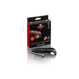 Steak Champ 3-Color Grillthermometer elektronisches Kern-Temperaturmessgerät Thermometer black
