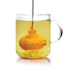 Tea Sub Teesieb Teefilter Tee-Ei Teebereiter Silikon Teeei