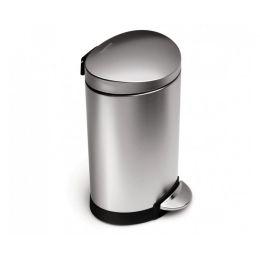 Treteimer 6 L Mülleimer klein Küche Abfallsammler Kosmetikeimer Bad Abfalleimer Büro Müllbehälter